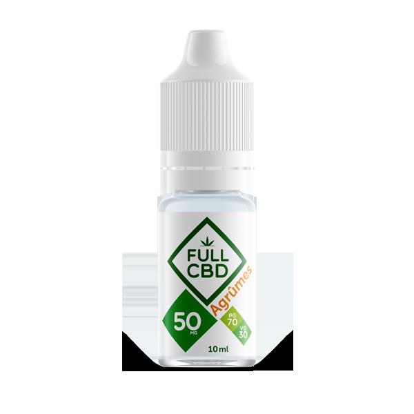 E-liquide Agrûmes de FULL CBD